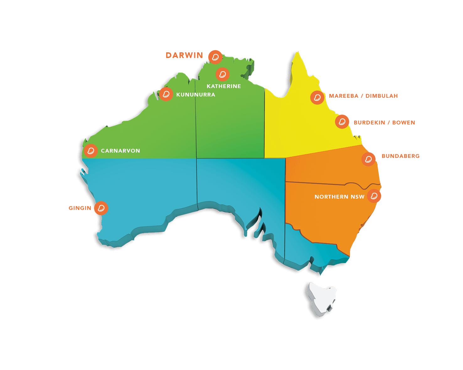 Where Is Australia Located On A Map.Mangoes Australia Where Do My Mangoes Come From Mangoes Australia