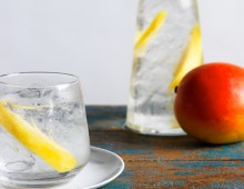 Gin and Tonic with Mango