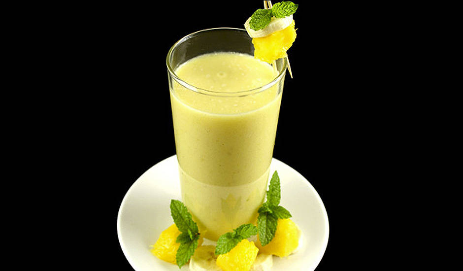 Mango-And-Banana-Smoothie