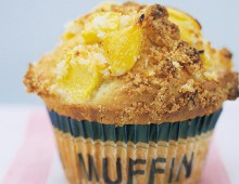 Mango Coconut Crumble Muffins