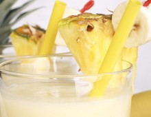 Mango, Pineapple And Coconut Milk