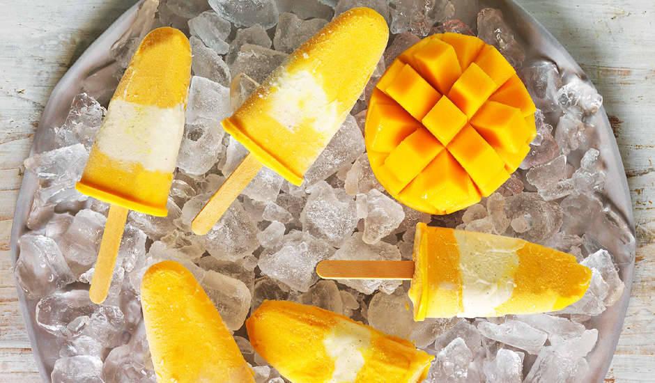 Mango-Popsicles