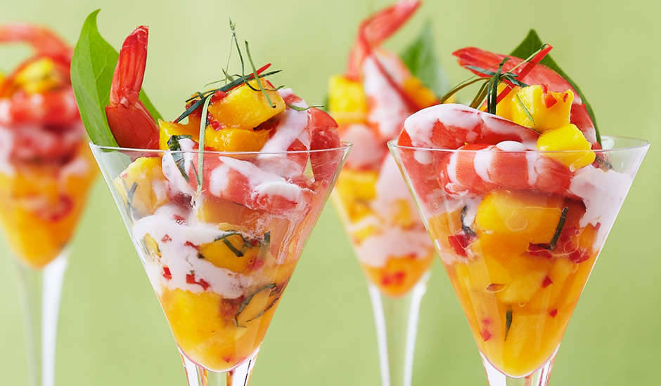 Prawn-Martini-With-Mango-Salsa