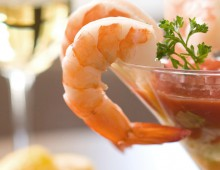 Prawn and Mango Cocktail