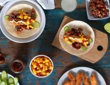 Soft Fish Tacos with Mango salsa