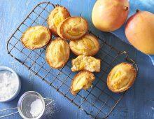 Mango friands