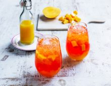 Aussie Summer Mango Spritz