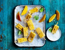 Mango Paletas – frozen ice pop